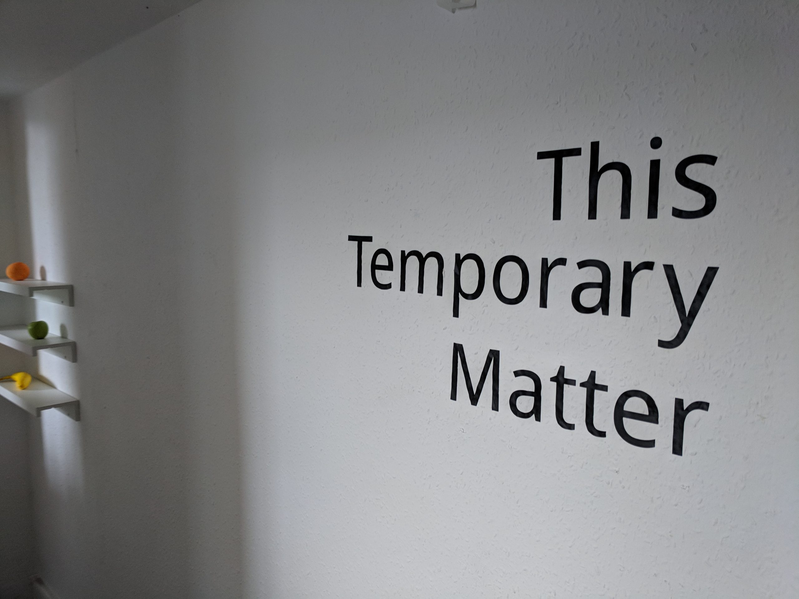 This Temporary Matter